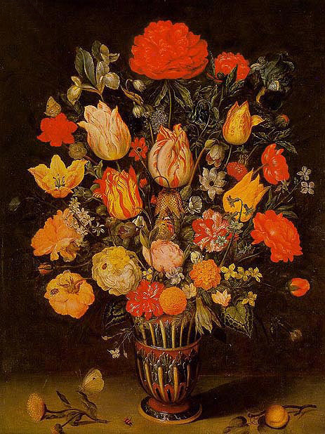 Still Life of Flowers, undated | Ambrosius Bosschaert | Giclée Canvas Print