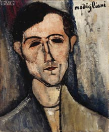 Modigliani | A Man | Giclée Canvas Print