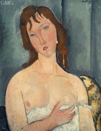 Modigliani | Portrait of a Young Woman | Giclée Canvas Print
