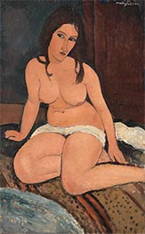 Modigliani | Seated Nude | Giclée Canvas Print
