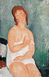 Modigliani | Young Woman in a Shirt | Giclée Canvas Print