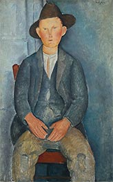 Modigliani | The Little Peasant | Giclée Canvas Print