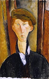 Modigliani | Young Man with a Cap | Giclée Canvas Print