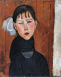 Modigliani | Marie, Daughter of the People | Giclée Canvas Print
