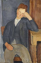 Modigliani | The Young Apprentice | Giclée Canvas Print