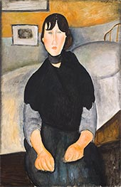 Modigliani | Young Woman of the People | Giclée Canvas Print