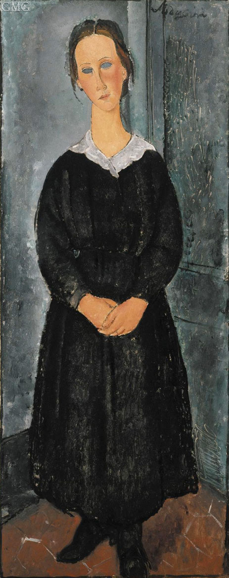Modigliani | The Servant Girl, c.1918 | Giclée Canvas Print