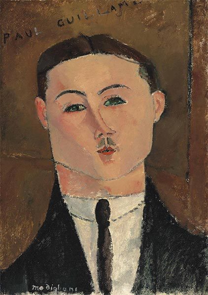 Paul Guillaume, 1916 | Modigliani | Giclée Canvas Print