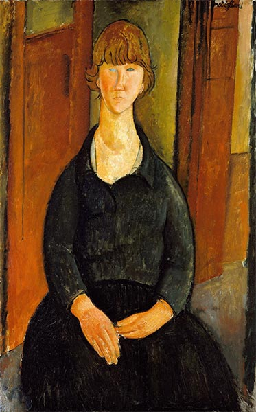 Flower Vendor, 1919 | Modigliani | Giclée Canvas Print