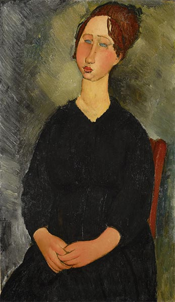 Little Servant Girl, c.1916 | Modigliani | Giclée Canvas Print