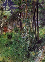 Anders Zorn | A Woman in a Forest, 1907 | Giclée Canvas Print