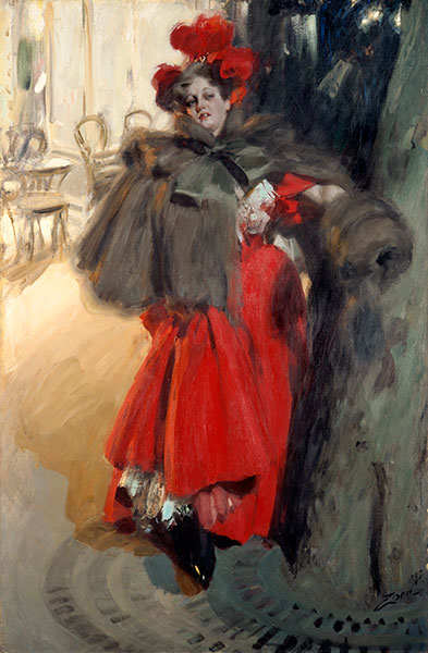 Night Effect, 1895 | Anders Zorn | Painting Reproduction