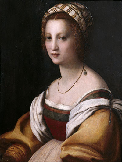 Portrait of a Woman, c.1514 | Andrea del Sarto | Giclée Canvas Print