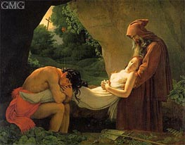 Girodet de Roussy-Trioson | The Entombment of Atala (The Burial of Atala), 1808 | Giclée Canvas Print