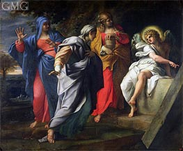 Annibale Carracci | The Holy Women at Christ's Tomb, c.1597/98 | Giclée Canvas Print