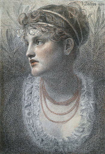 The Coral Necklace, 1871 | Sandys | Giclée Paper Print