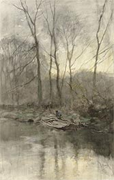 Anton Mauve   Forest Edge on the Water, c.1848/88   Giclée Paper Print