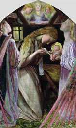 Arthur Hughes | The Nativity, 1858 | Giclée Canvas Print