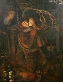 Arthur Hughes | The Lost Child, c.1866/67 | Giclée Canvas Print