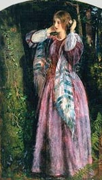 Arthur Hughes | Amy (Study For The Long Engagement) | Giclée Canvas Print