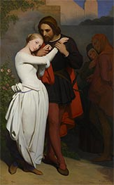 Ary Scheffer | Faust and Marguerite in the Garden, 1846 | Giclée Canvas Print