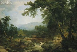 Asher Brown Durand | Monument Mountain, Berkshires, c.1855/60 | Giclée Canvas Print