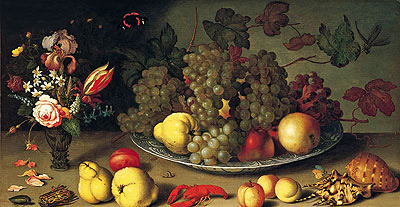 Still Life with Fruits and Flowers, c.1620 | van der Ast | Giclée Canvas Print