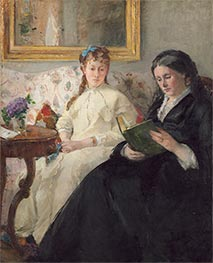 Berthe Morisot   The Mother and Sister of the Artist   Giclée Canvas Print