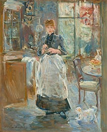 Berthe Morisot | In the Dining Room | Giclée Canvas Print