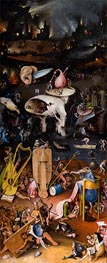 Hieronymus Bosch | The Garden of Earthly Delights Triptych (Left Panel), c.1490/00 | Giclée Canvas Print