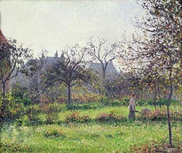 Pissarro | Morning Sun, Autumn, Eragny | Giclée Canvas Print