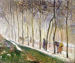 Pissarro   The Route, The Effect of the Snow, 1879   Giclée Canvas Print