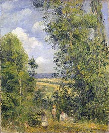 Pissarro   A Rest in the Meadow, 1878   Giclée Canvas Print