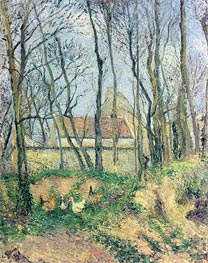 Pissarro | The Path of the Wretched, 1878 | Giclée Canvas Print