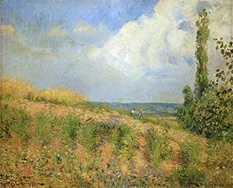Pissarro | Approach of the Storm, 1890 | Giclée Canvas Print