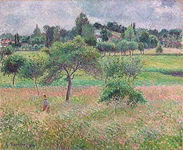 Pissarro | Apples in Eragny, 1894 | Giclée Canvas Print