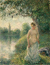Pissarro | The Bather | Giclée Canvas Print