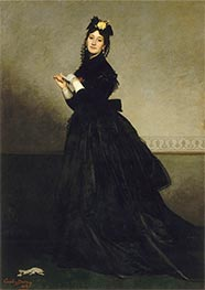 Carolus-Duran | The Lady with the Glove, 1869 | Giclée Canvas Print