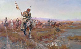 Charles Marion Russell | The Medicine Man, 1908 | Giclée Canvas Print