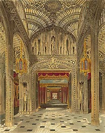 Charles Wild | The Conservatory at Carlton House, 1819 | Giclée Paper Print