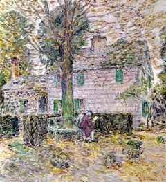 Hassam | Indian Summer in Colonial Days | Giclée Canvas Print
