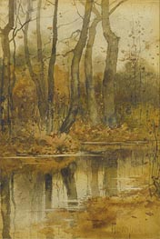 Hassam | Stream in the Woods | Giclée Canvas Print