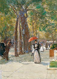 Hassam | Fifth Avenue at Washington Square, New York | Giclée Canvas Print