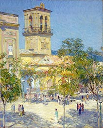 Hassam | Street of the Great Captain, Cordoba, 1910 | Giclée Canvas Print