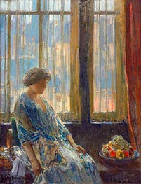 Hassam | The New York Window | Giclée Canvas Print