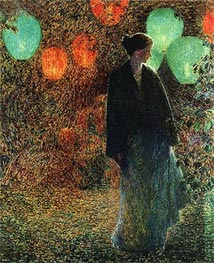 Hassam | July Night | Giclée Canvas Print