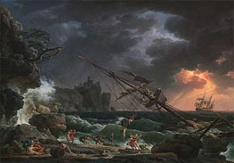 Claude-Joseph Vernet | The Shipwreck, 1772 | Giclée Canvas Print