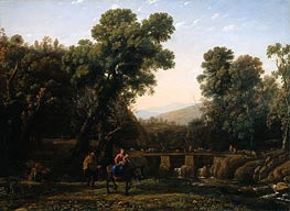 Claude Lorrain | The Flight Into Egypt | Giclée Canvas Print