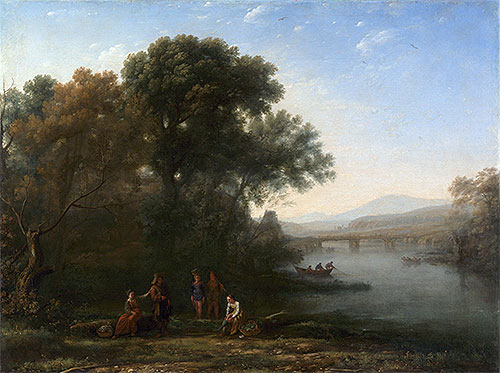 The Ford, c.1636 | Claude Lorrain | Painting Reproduction