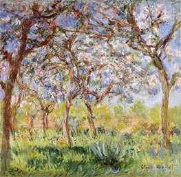 Monet | Spring at Giverny | Giclée Canvas Print